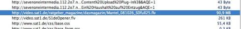 Safari (alte Version) - Fenster -  Aktivität - Doppelklick