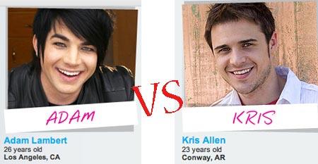 Sangen sich ins American Idol-Finale: Adam Labert und Kris Allen