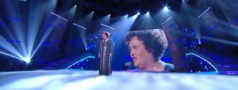 Träumte noch einmal ihren Traum: Susan Boyle