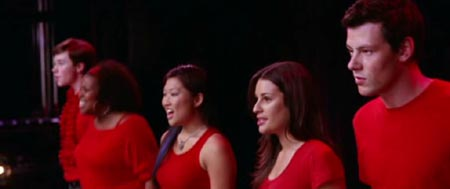 "Kleiner Club: Schulchor ""New Directions"" in Glee"