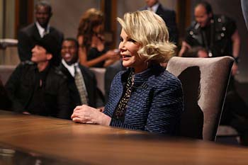 Joan Rivers moment of fame, (c) NBC