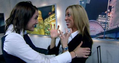 Freuen sich über Finaleinzug: Yasmina Siadatan und Kate Walsh