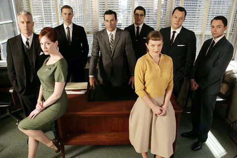 Mad Men Cast (c) AMC