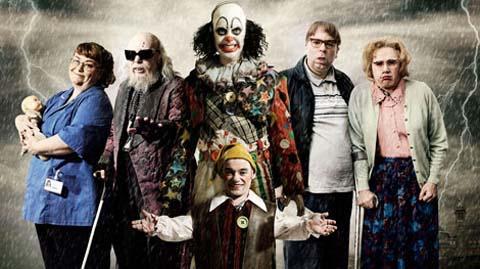 Psychoville Cast (c) BBC