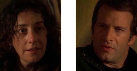 "Tanya (Jane Adams) und Ray (Thomas Jane) in ""Hung"""