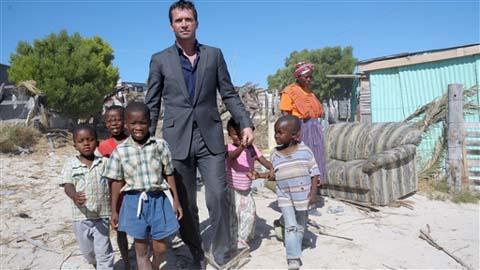 Auf den richtigen Weg gebracht: Milliardär Teddy Rist und die Kinder